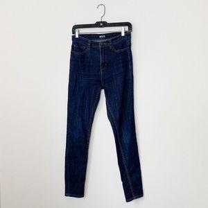BDG | Dark Wash High Rise Twig Jeans | 27